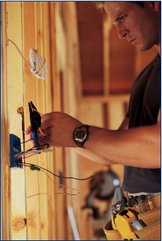 New construction electrical installation services